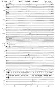 Sheet Music - Marco Beltrami